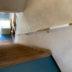 漆喰シート階段手摺写真